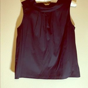 Talbots Petite Black Blouse Size Medium
